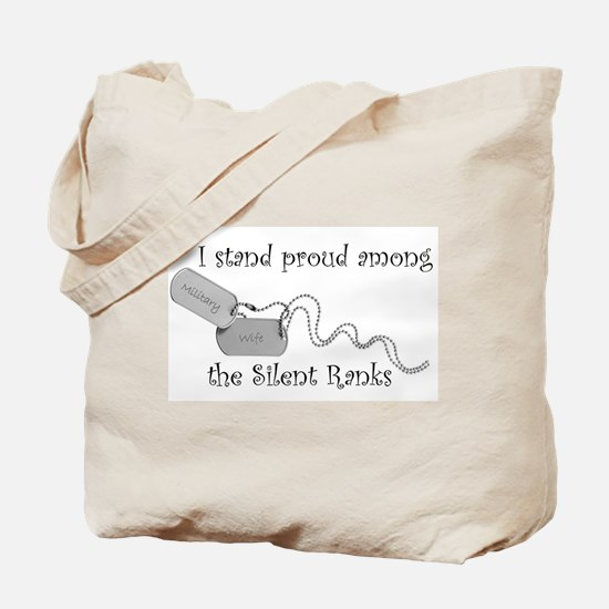 Silent Ranks Tote Bag
