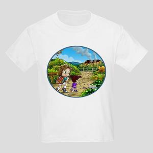 Volcano Hike Kids Light T-Shirt