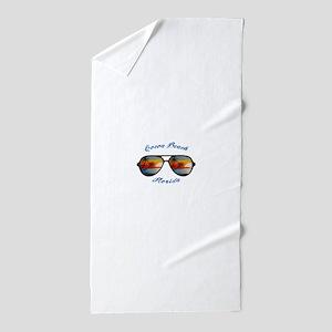 Florida - Cocoa Beach Beach Towel