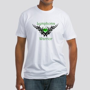 Lymphoma Warrior Fitted T-Shirt