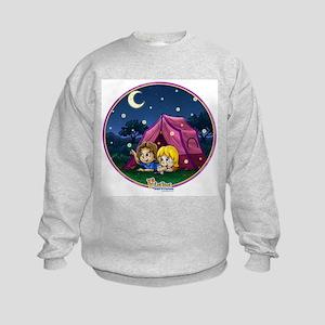Camping Out Kids Sweatshirt