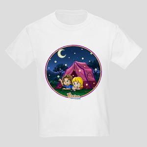 Camping Out Kids Light T-Shirt