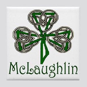 McLaughlin Shamrock Tile Coaster