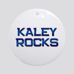 kaley rocks Ornament (Round)