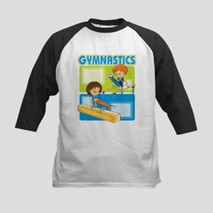 Boys' Gymnastics Kids Baseball Jersey