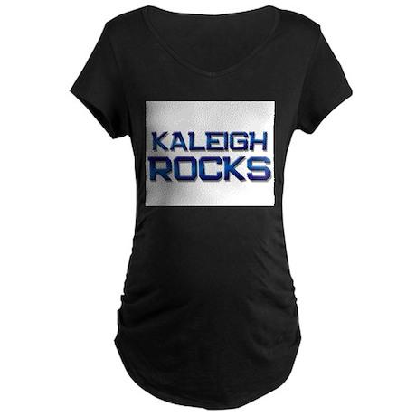 kaleigh rocks Maternity Dark T-Shirt