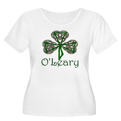 O'Leary Shamrock Women's Plus Size Scoop Neck T-Sh