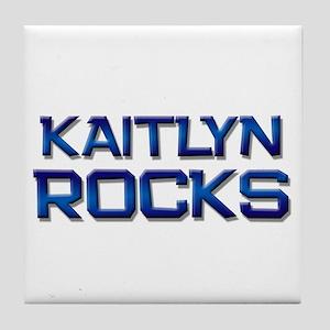 kaitlyn rocks Tile Coaster