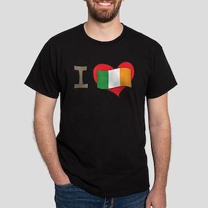 I heart Ireland Dark T-Shirt
