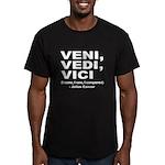 Veni Vedi Vici Caesar Quote Men's Fitted T-Shirt (
