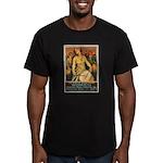 Women Power Poster Art Men's Fitted T-Shirt (dark)
