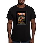 Food is Ammunition Men's Fitted T-Shirt (dark)