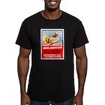 Navy Arise Americans Men's Fitted T-Shirt (dark)