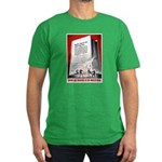 Books Are Weapons Poster Art Men's Fitted T-Shirt