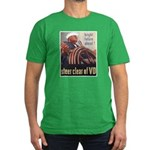 Steer Clear of VD Poster Art Men's Fitted T-Shirt