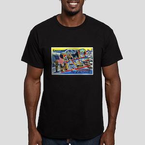 Camp Hale Colorado Men's Fitted T-Shirt (dark)