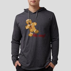 Oh Snap! Gingerbread Man Long Sleeve T-Shirt