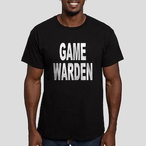 Game Warden Men's Fitted T-Shirt (dark)