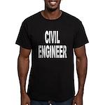 Civil Engineer Men's Fitted T-Shirt (dark)