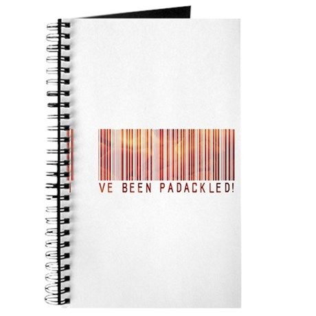 Padackled - Red Barcode Journal