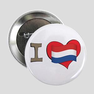 """I heart Netherlands 2.25"""" Button"""