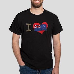 I heart New Zealand Dark T-Shirt