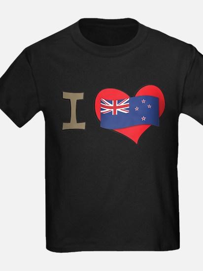 I heart New Zealand T
