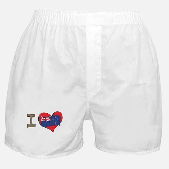 I heart New Zealand Boxer Shorts
