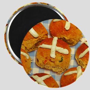 Hot Cross Buns Magnet
