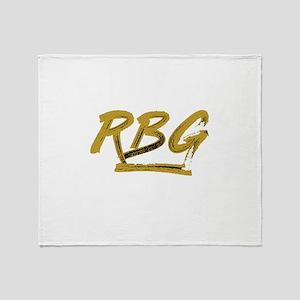 RBG Shirt Throw Blanket