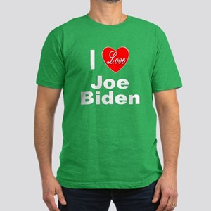 I Love Joe Biden Men's Fitted T-Shirt (dark)