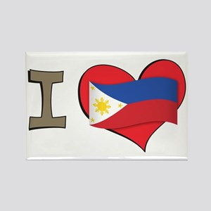 I heart Philippines Rectangle Magnet