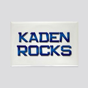 kaden rocks Rectangle Magnet