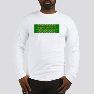 Support the POWs  Long Sleeve T-Shirt