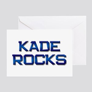 kade rocks Greeting Card