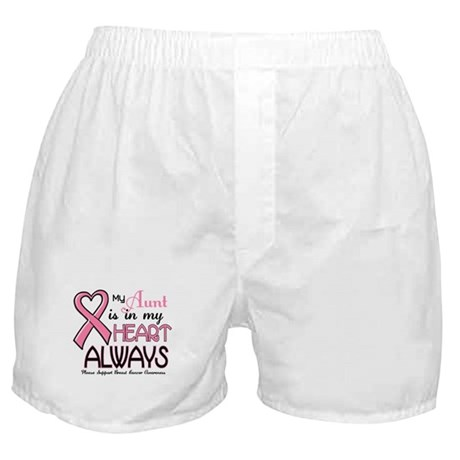 In My Heart 2 (Aunt) PINK Boxer Shorts