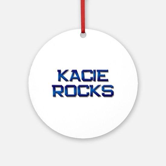 kacie rocks Ornament (Round)