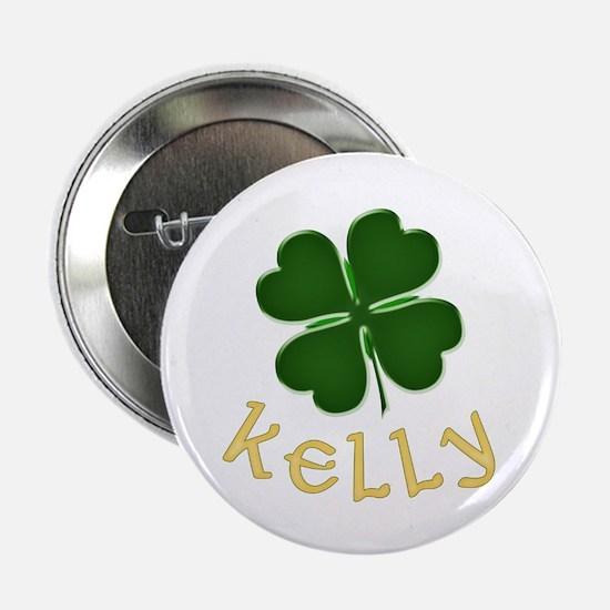 """Kelly Irish 2.25"""" Button"""