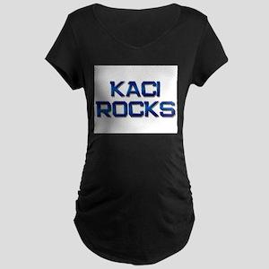 kaci rocks Maternity Dark T-Shirt