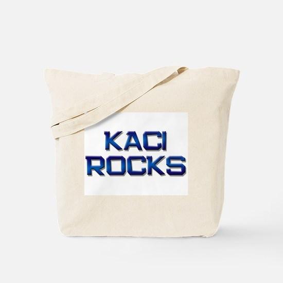kaci rocks Tote Bag