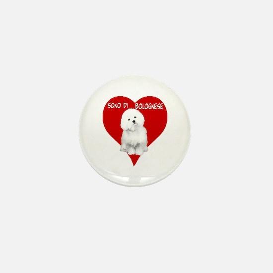 Unique Bolognese Mini Button