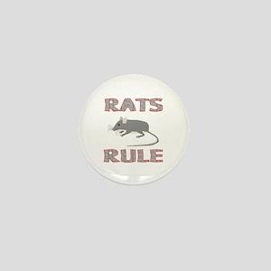 Rat Mini Button