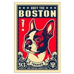 Obey the Boston! USA Large Poster