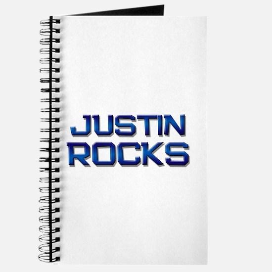 justin rocks Journal