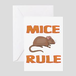 Mice Greeting Card