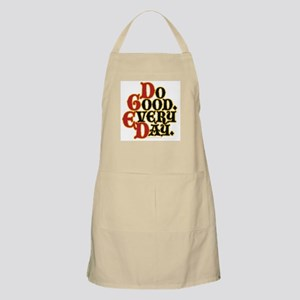 Motto for Today Apron