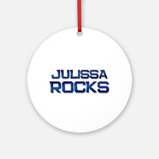 julissa rocks Ornament (Round)