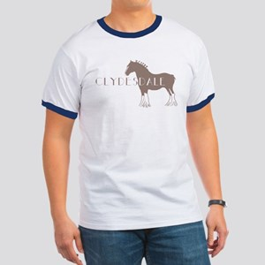 Clydesdale Horse Ringer T