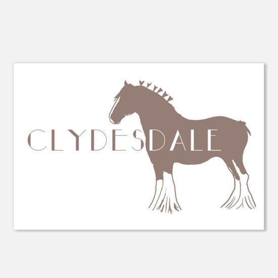 Clydesdale Horse Postcards (Package of 8)