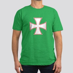 Iron Cross Men's Fitted T-Shirt (dark)